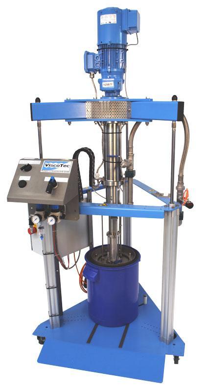 Hobbock emptying system ViscoMT-XS  - Tank emptying / valve-free pump system