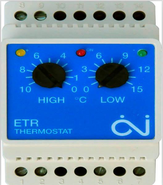 Termostato del sistema de hielo de fusión de nieve -  termostato