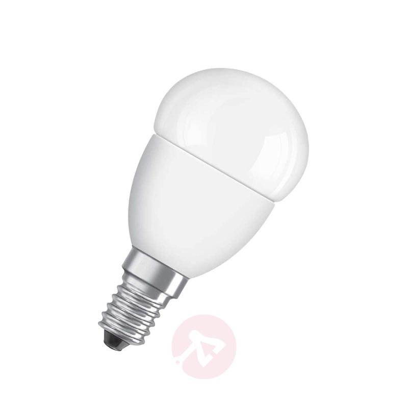 E14 6W 827 LED tear bulb Superstar, matte, dimmab. - light-bulbs