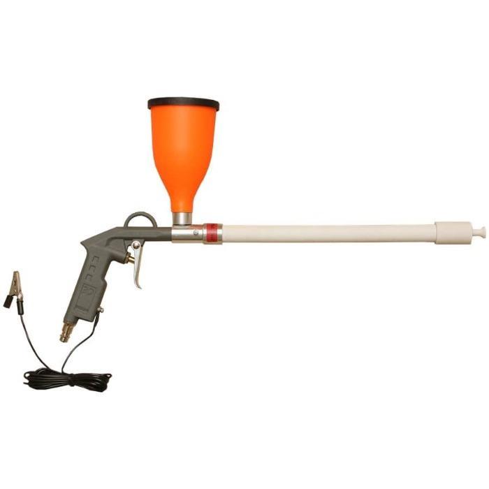 Powder coating gun - START-50-tribo