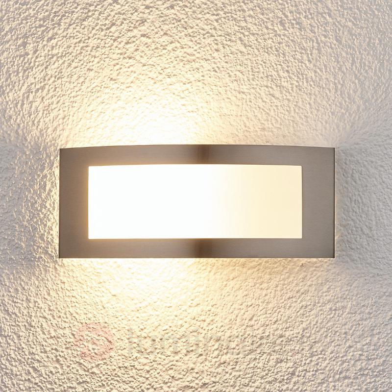 Raja - applique d'extérieur LED en inox - Appliques d'extérieur inox