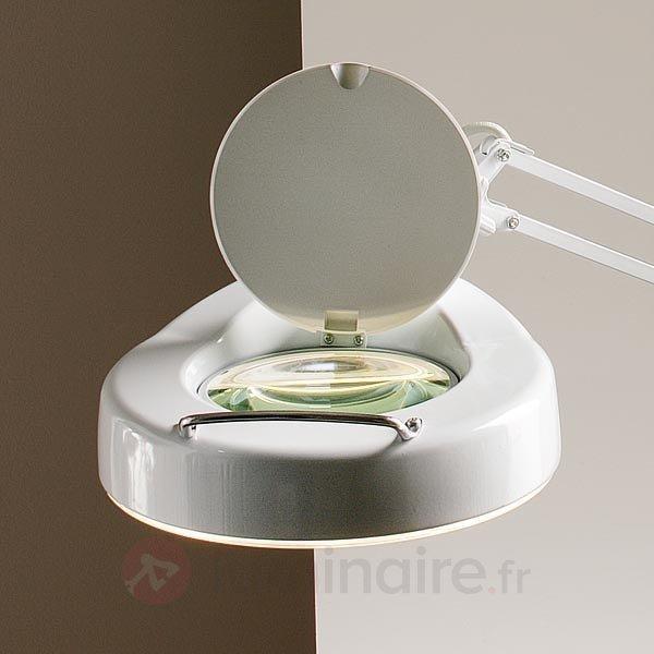 Lampe-loupe LUME avec pince - Lampes de bureau
