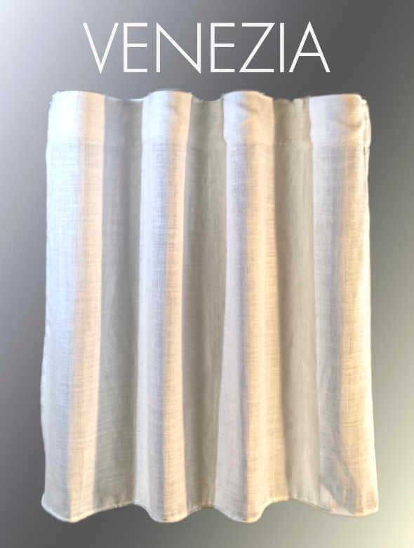 confezione tendaggio denominata VENEZIA - confezione tendaggio artigianale su misura