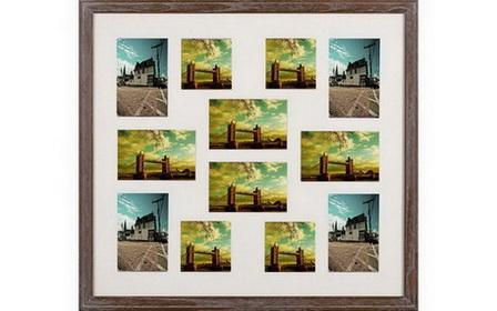 wood photo frame multiple openings - wood photo frame multiple openings