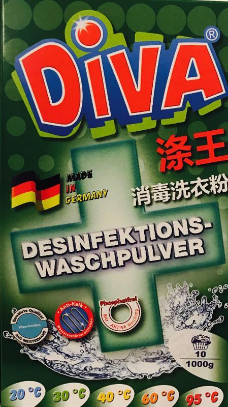 Diva Desinfektions-Waschpulver 1000g - Reinigung - Pflege