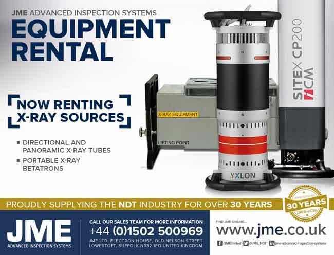 X-Ray Source Equipment Rental