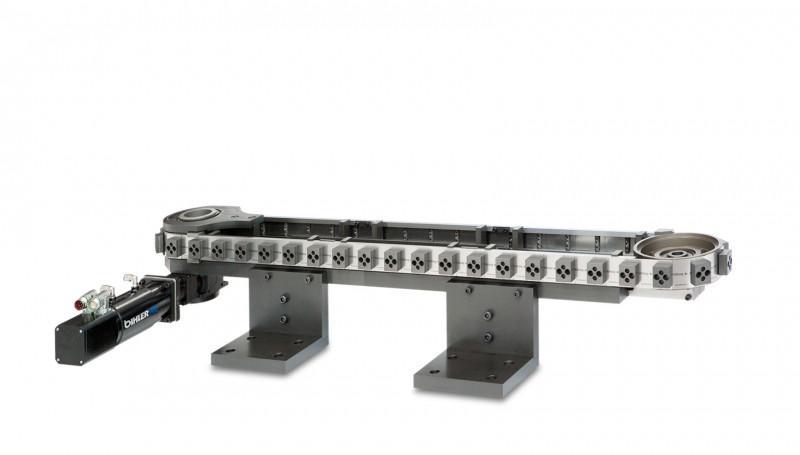 Servo-Transportband STB - STB: Prozesssicheres Transportieren und Positionieren von Bauteilen