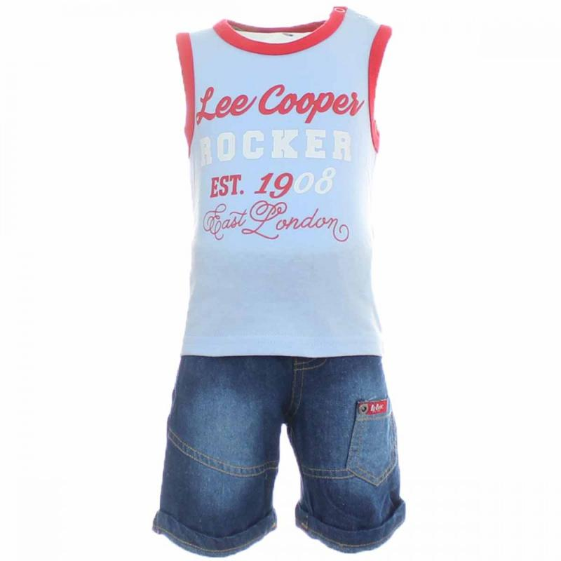 10x Ensembles 3 pieces Lee Cooper du 3 au 24 mois - Vêtement été