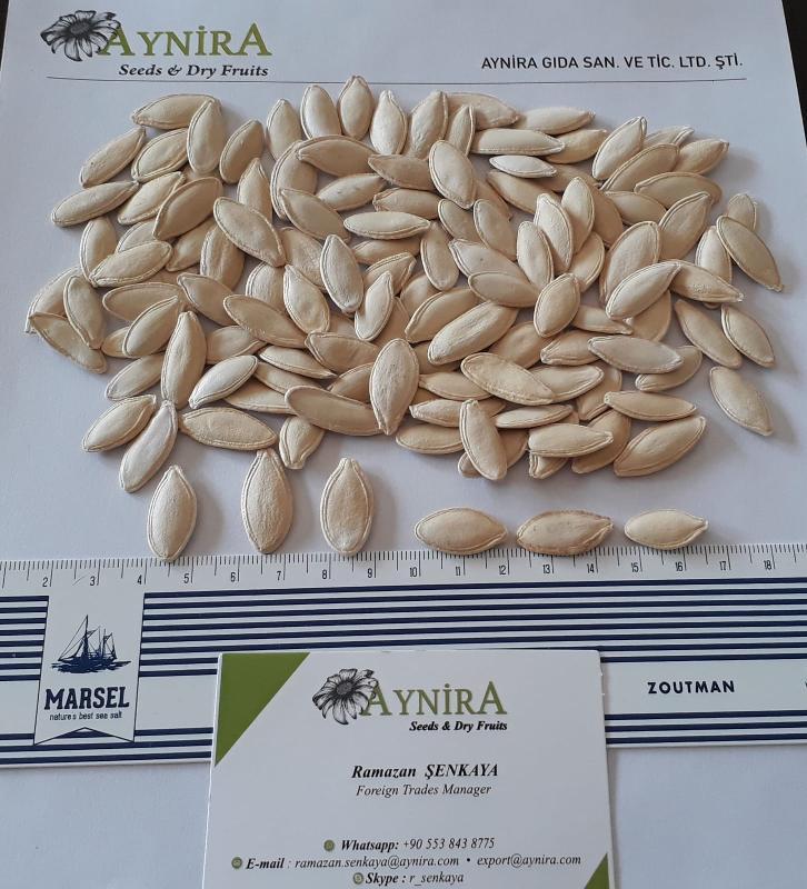 Turkish Origin, Raw Pumkin Seeds - Round Pumpkin Seeds in shell Lady Nail Pumpkin Seeds in shell