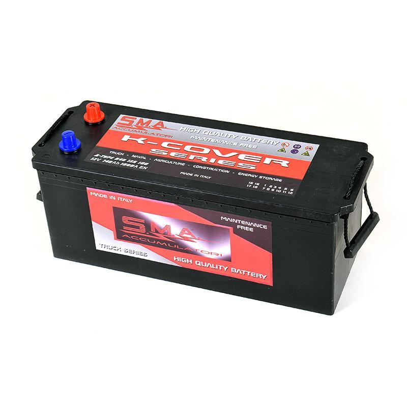 Batteria MAC A 140AH sinistra - Batterie per veicoli industriali