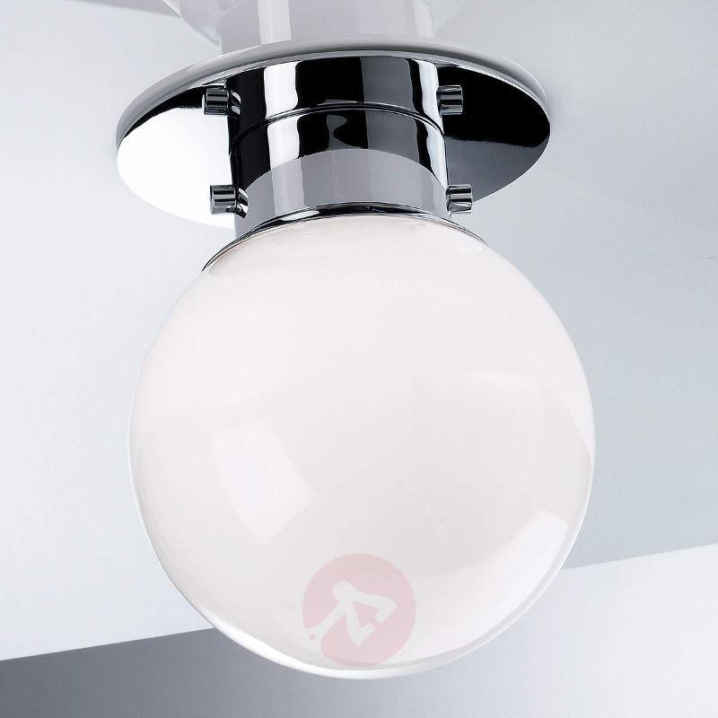 GLOBE classic spherical ceiling light, chrome - Ceiling Lights