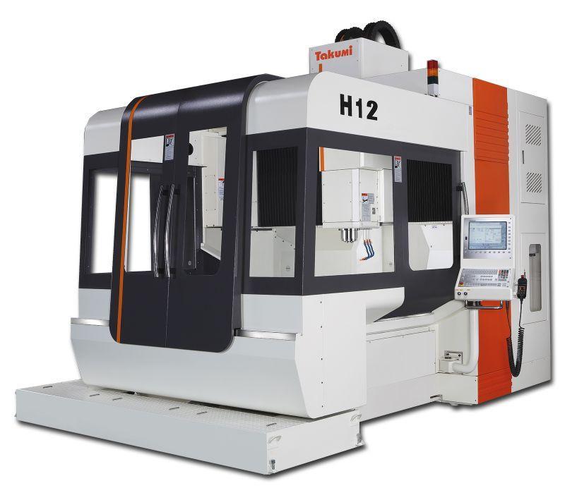 3-Achs-Bearbeitungszentrum - H12 - 3-Achs-Bearbeitungszentrum zum Werkzeug- u. Formenbau, H12, Takumi
