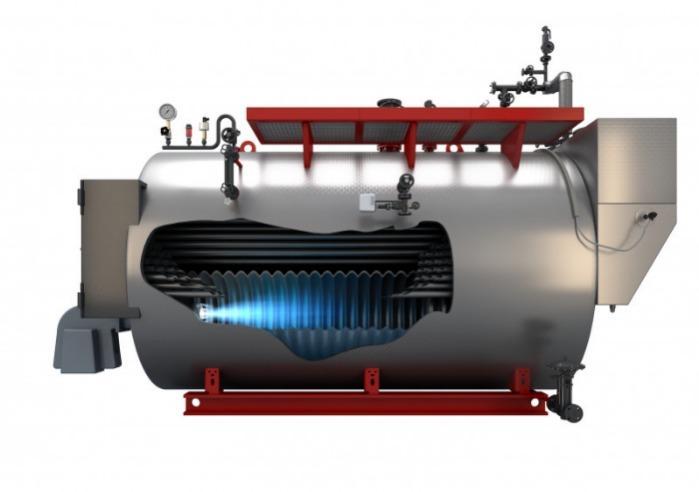 Bosch Steam boiler - Universal ZFR, ZFR-X - Bosch Steam boiler ZFR, ZFR-X  - 3-pass double-flame tube/smoke tube technology