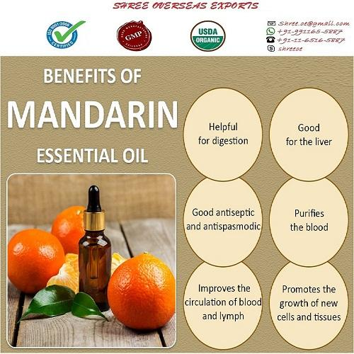 Organic Mandarin Oil  - USDA Organic