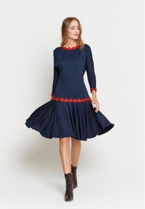 "Women's dress  - Women's dress  ""Samara"" (PO5820-05 (12))"