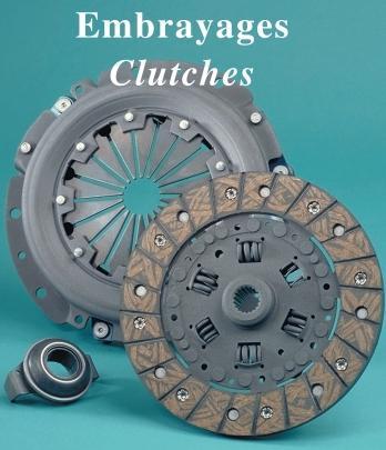 embrayages automobiles et utilitaires