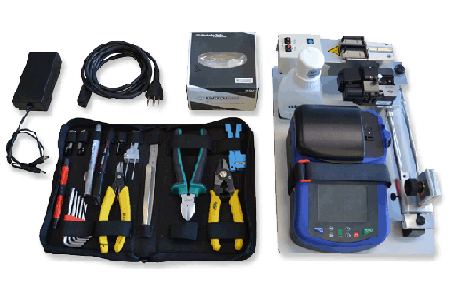 Fiber optic Fusion splicer  - For Splice On and Outdoor Connectors