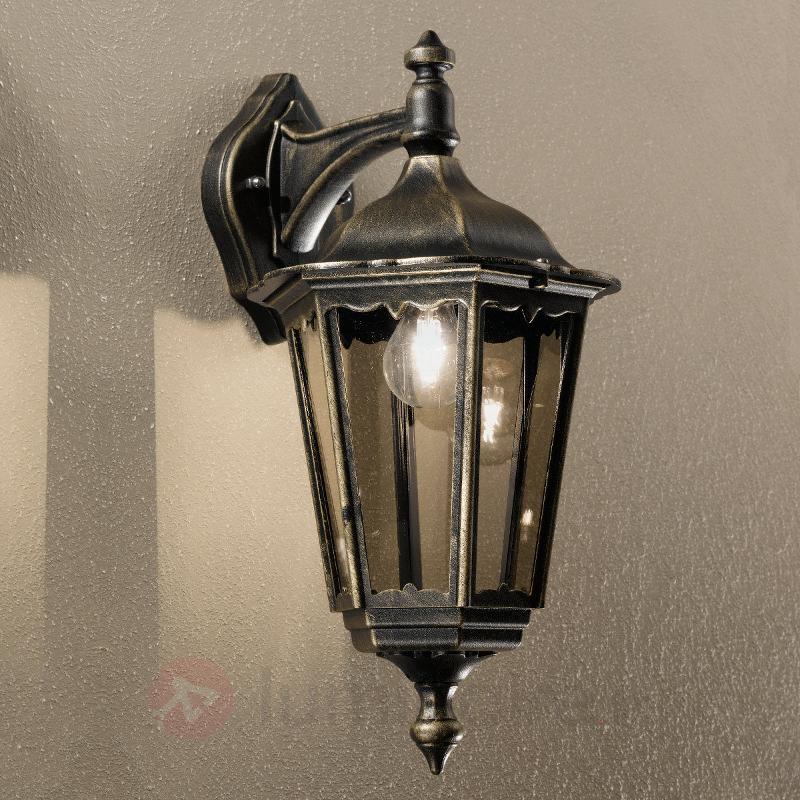 Applique d'extérieur Fabio en forme de lanterne - Toutes les appliques d'extérieur