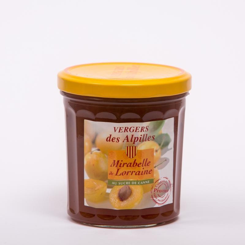 Vergers des Alpilles - Mirabelle de Lorraine - Confitures au sucre de canne