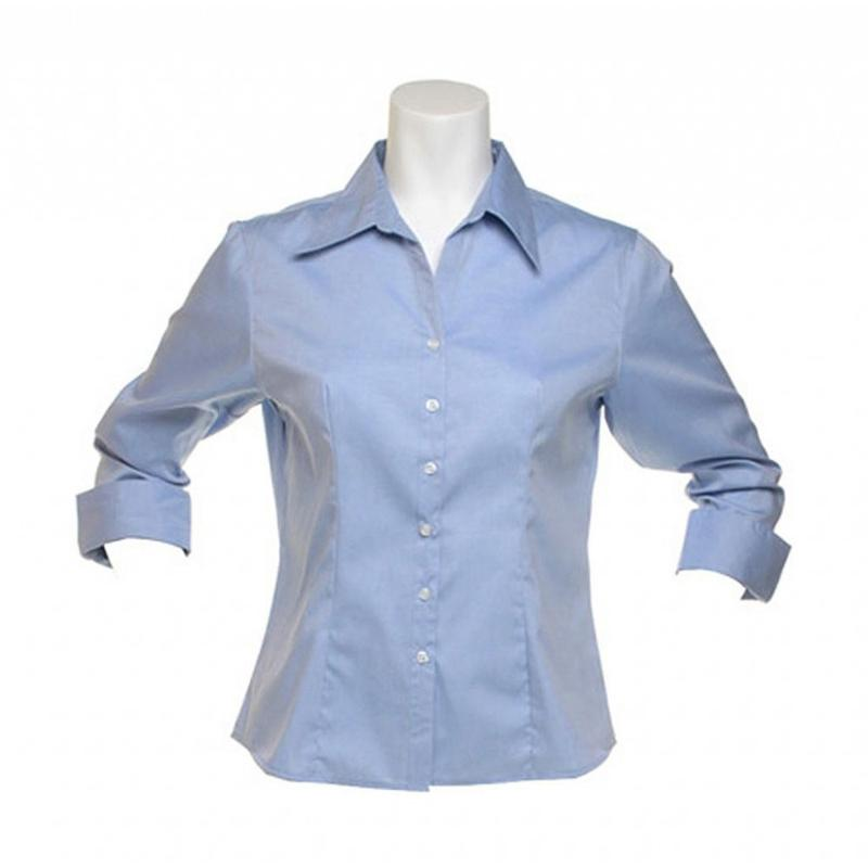 Chemise manches 3/4 Oxford - Femme