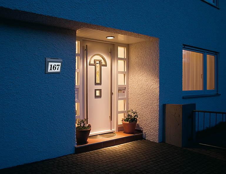 Illuminated House Number Solar Power SH 4000 IP44 - null