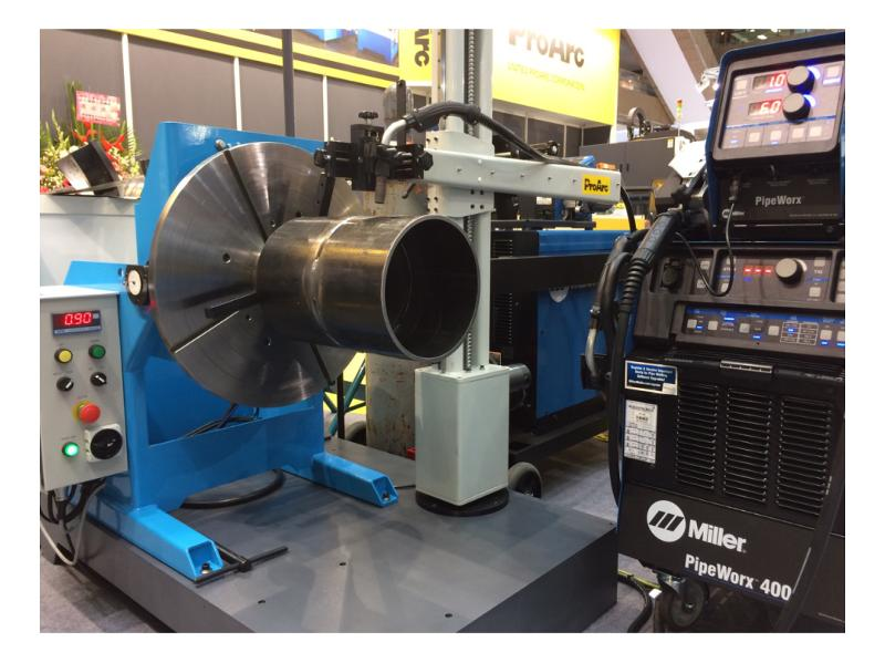 Column and Boom / Welding Manipulator - ProArc Scaled-Down type of MP