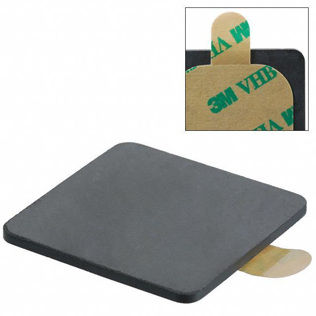 FERRITE EMI PLATE 38MMX38MMX2MM - Laird-Signal Integrity Products MP1496-000