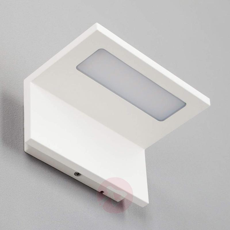 Caner White LED Exterior Wall Lamp - Wall Lights