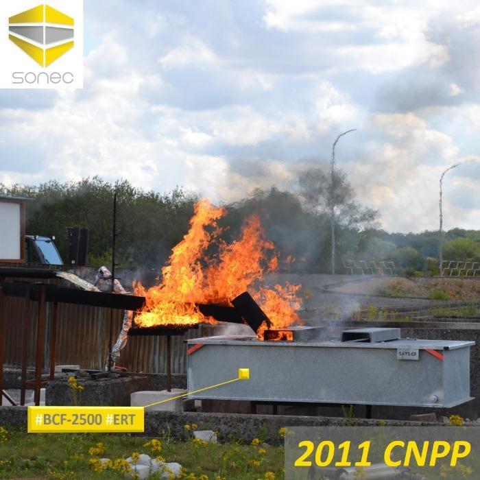 Bacs de rétention coupe-feu monoblocs BCF - Bac autoporteur équipé d'un système coupe-feu validé par le laboratoire Français