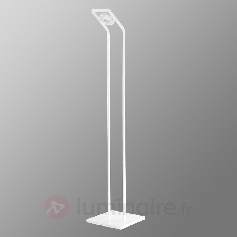 Lampadaire de lecture LED TUNE-LL blanc - Lampadaires LED à éclairage indirect