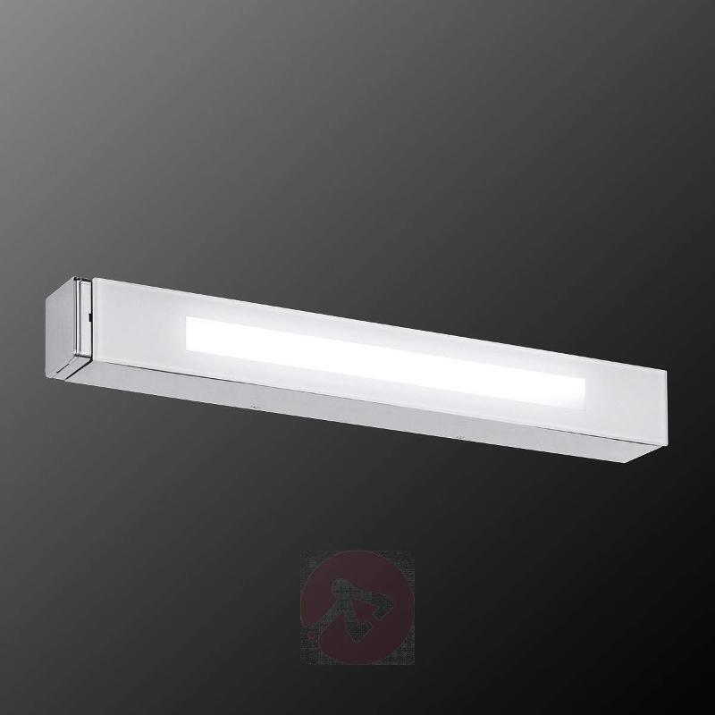 LED bathroom wall light Thorben, power socket