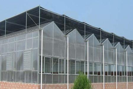 Greenhouse glass -