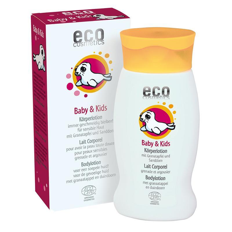 ECO Baby & Kids Körperlotion 200ml mit Granatapfel und... - null