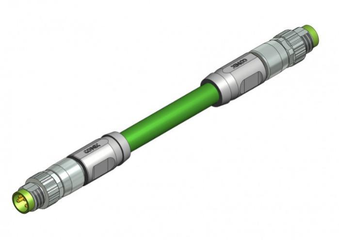 Industrial Ethernet Connectors M8x1 - Industrial Ethernet Connectors M8x1