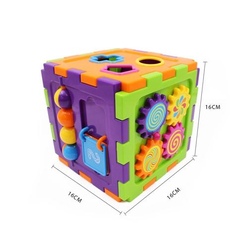 Educational games and puzzles cube - Wishtime Activity Gear Puzzle