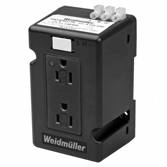 MODULE OUTLET AC DUAL 15A 120VAC - Weidmuller 6720005421