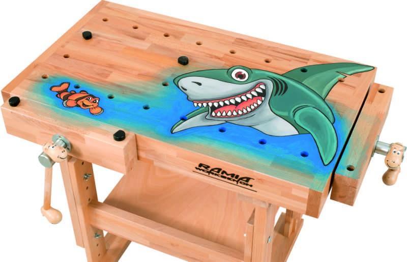 Zuberhör - Zeichnung für KID's - der Hai