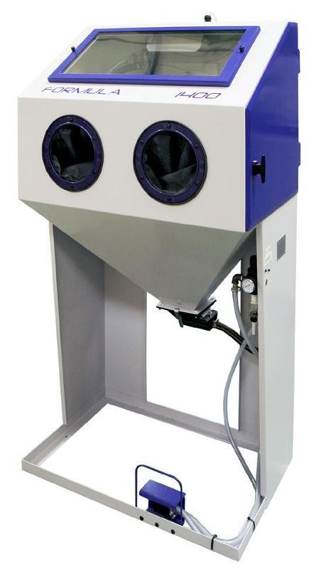 Cabine de sablage usage modéré