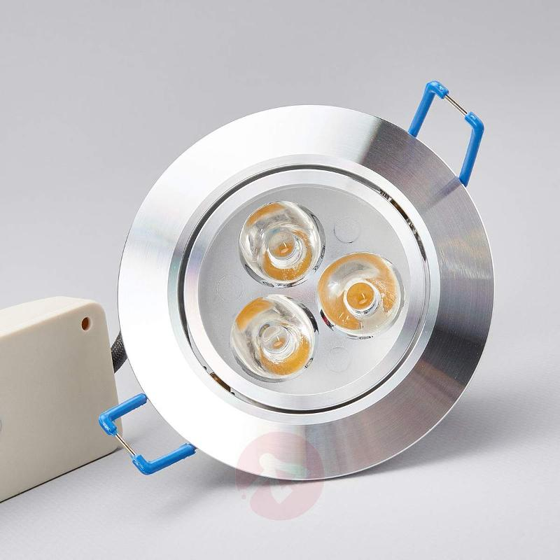 Bjani LED Recessed Lamp 3 x 1 W - Recessed Spotlights