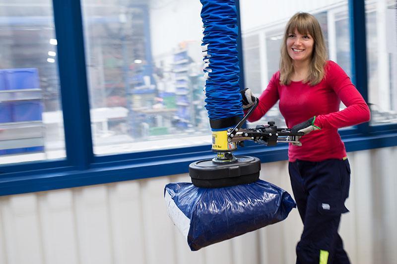 TAWI vacuum lifter - vacuum bag lifter