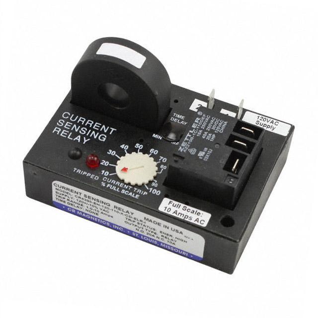 RELAY AC CUR SENS 120VAC CHAS MT - CR Magnetics Inc. CR4395-EH-120-110-X-CD-ELR-I
