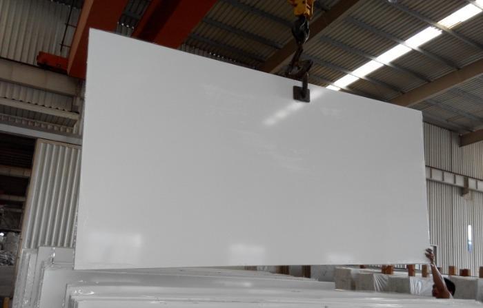 Engineered Quartz Pure White for Countertops, Stairs  -