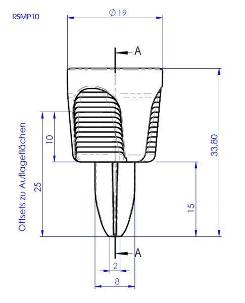 Mini prisms  - RSMP10 and RSMP12