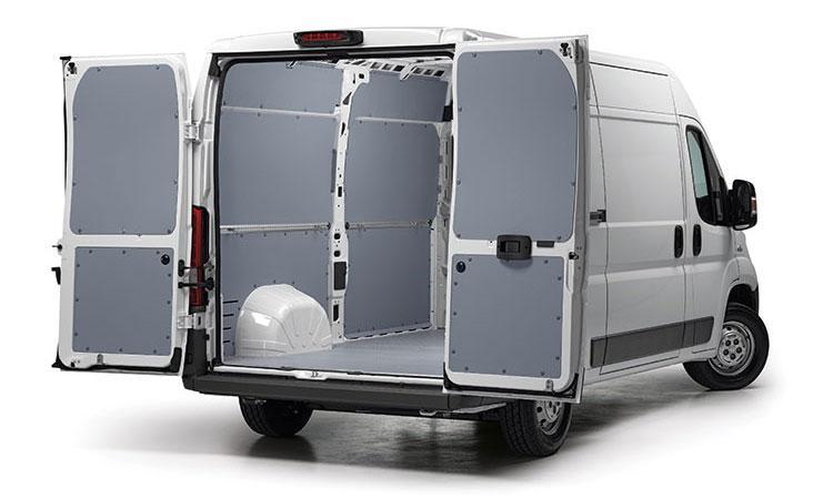 Pianali e pannellature per furgoni -