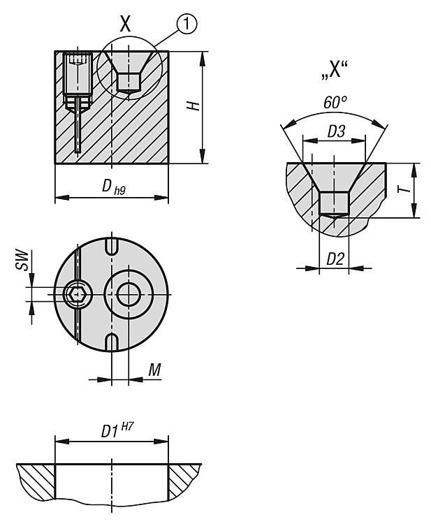 Eccentric Bushes With Centre Bore - Spring plungers Indexing plungers Stops Centring/positioning components Ball loc