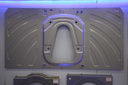 Roller washing machine cabinet mold - Roller washing machine cabinet