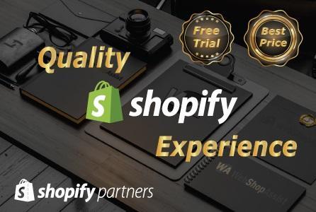 Oferta Servicii Creare Magazin Shopify - Shopify Partners