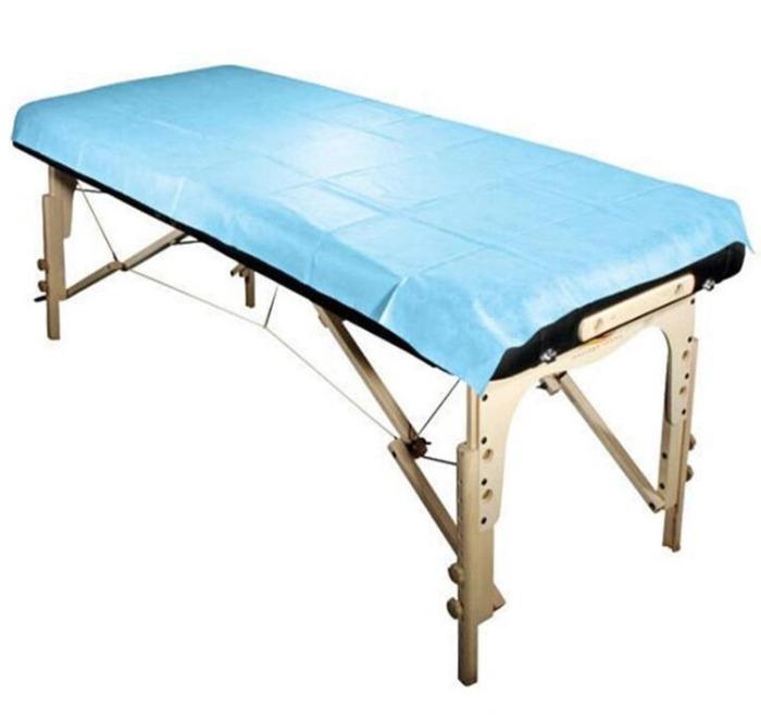 Non woven disposable bedsheet bed cover - Non woven disposable bedsheet bed cover for hospital massage saloon