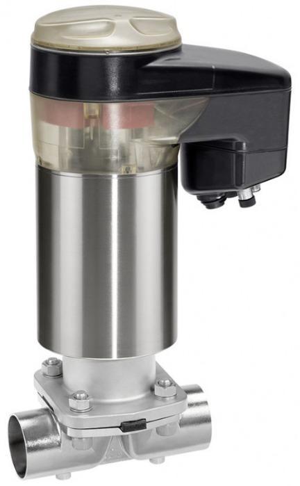Motorized diaphragm valve GEMÜ 649 eSyDrive - The GEMÜ 649 diaphragm valve is actuated by a motorized hollow shaft actuator.
