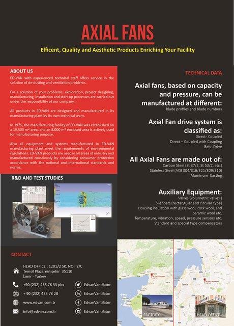 AXIAL FANS - AKSİYAL VANTİLATÖRLER - AKSİYAL VANTİLATÖRLER